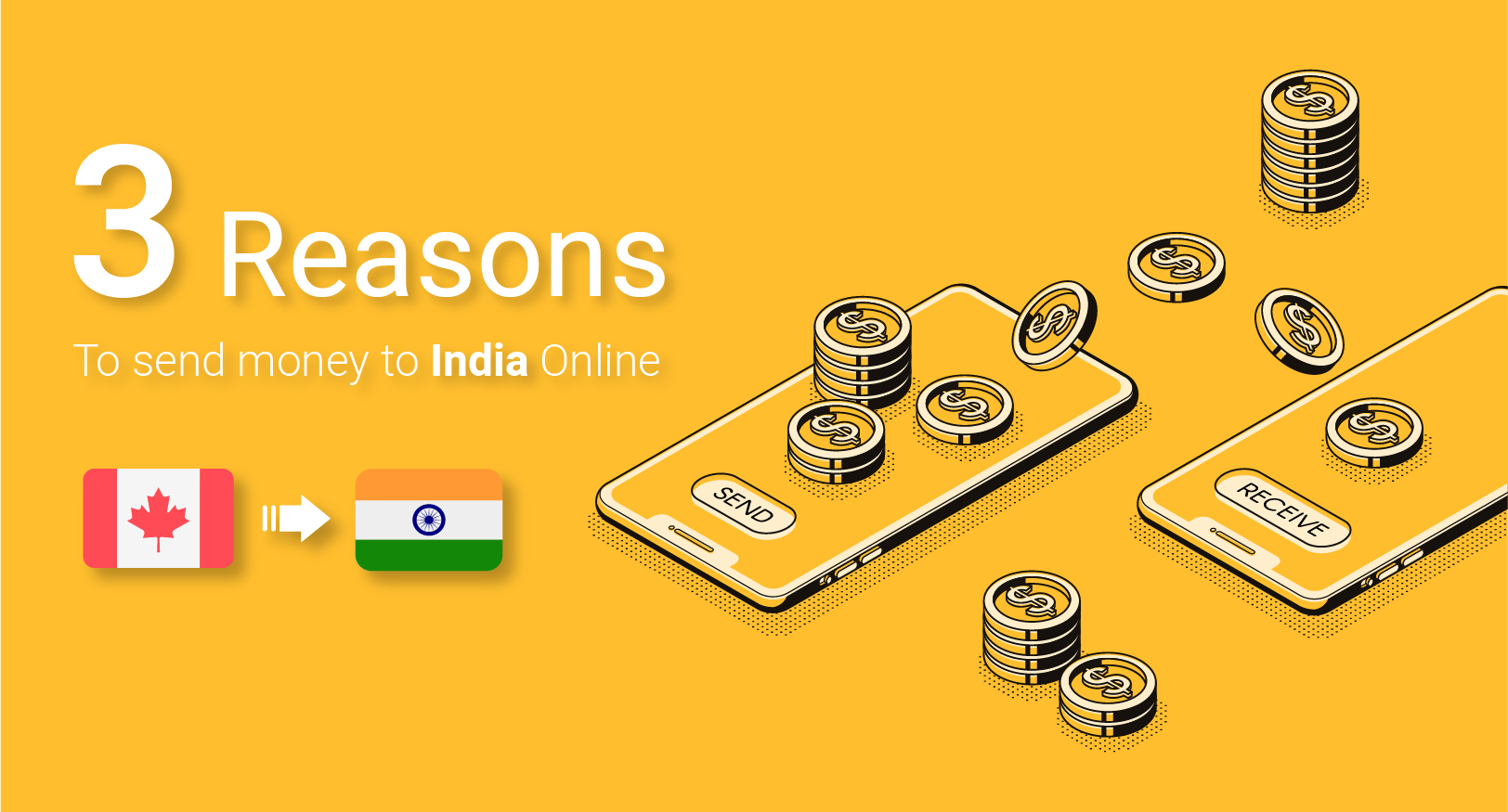 3 Reasons To Send Money To India Online